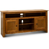 58 Inch Light Pine TV Stand - Rio Bravo
