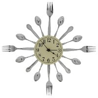 P24 Metal Art Wall Clock