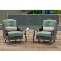 Hanover Outdoor Ventura 3 Piece Chat Set Rc Willey Furniture Store