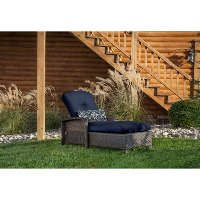STRATHCHSNVY Outdoor Chaise Lounge Chair - Strathmere