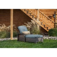 STRATHCHSBLU Outdoor Chaise Lounge Chair - Strathmere