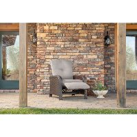STRATHRECSLV Outdoor Luxury Recliner - Strathmere