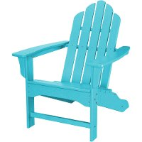 HVLNA10AR Blue Outdoor Contoured Chair - Adirondack