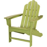 HVLNA10LI Green Outdoor Contoured Chair - Adirondack