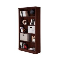 10150 Royal Cherry 5-Shelf Bookcase - Morgan