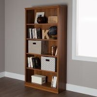 10146 Cherry 5-Shelf Bookcase - Morgan