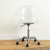 100075 Contemporary Clear Office Chair - Annexe