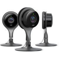 CAM-3-PACK Google Nest Cam Indoor Security Camera 3 Pack
