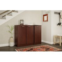 10185 Cherry Small Storage Cabinet - Axess