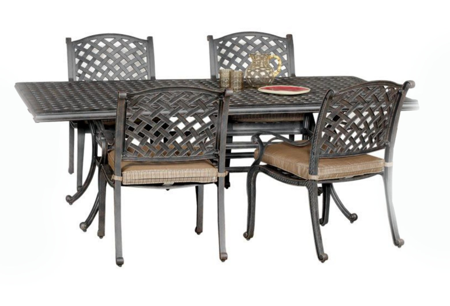 Moab World Source 7 Piece Patio Dining Set Rc Willey
