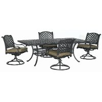 5 Piece Outdoor Patio Dining Set - Moab