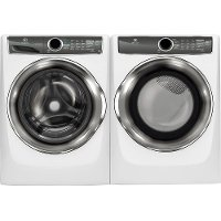 KIT Electrolux Front Load Washer and Electric Dryer Set - White