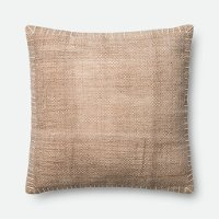 Magnolia Home Furniture Beige Throw Pillow