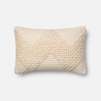 Magnolia Home Furniture Ivory Rectangular Throw Pillow