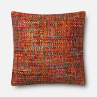Magnolia Home Furniture Red Multi-Color Throw Pillow