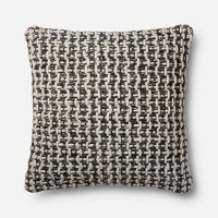 Magnolia Home Furniture Black and White Throw Pillow