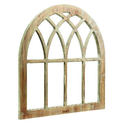 magnolia home furniture cathedral window frame wall decor - Window Frame Wall Decor