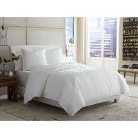 Ashworth Queen White Bedding Collection