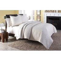 Taylor Queen Linen Bedding Collection
