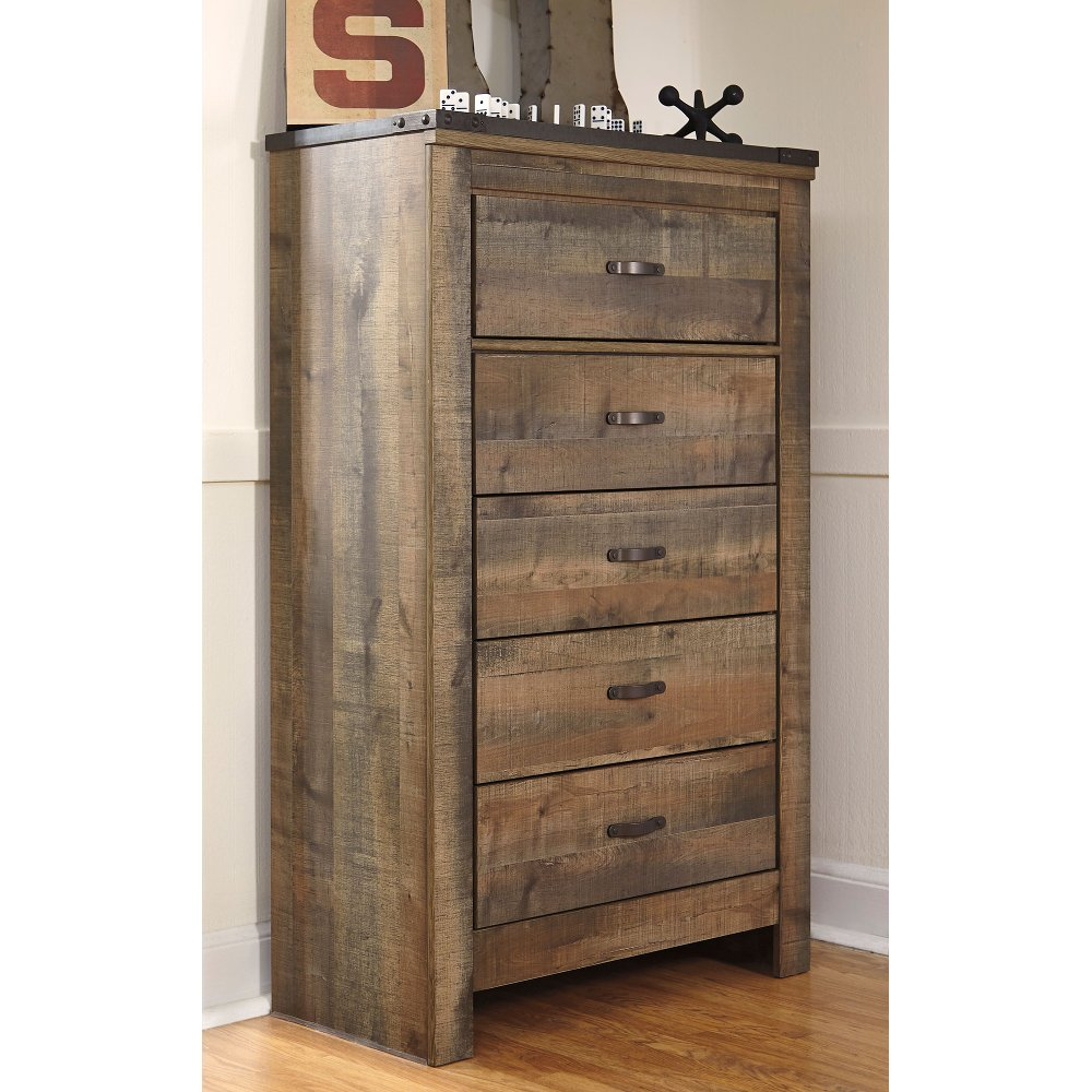 Rustic Casual Contemporary Chest Of Drawers Trinell