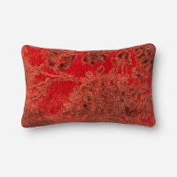 Coral Rectangular Throw Pillow