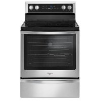 WFE745H0FS Whirlpool Electric Range with Frozen Bake Technology - 6.4 cu. ft. Stainless Steel