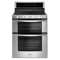 WGG745S0FS Whirlpool Double Oven Gas Range - 6.0 cu. ft. Stainless Steel