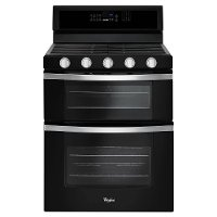 WGG745S0FE Whirlpool 30 Inch  Black 6.0 cu. ft. Double Oven Gas Range