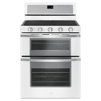 WGG745S0FH Whirlpool Double Oven Gas Range - 6.0 cu. ft. White