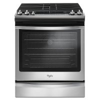 WEG745H0FS Whirlpool 6.2 cu. ft. Gas Slide-in Range - Stainless Steel