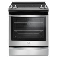 WEE745H0FS Whirlpool 6.4 cu. ft. Electric Slide-in Range - Stainless Steel