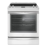 WEE745H0FH Whirlpool White 6.4 Cu. Ft. Slide-in Electric Range