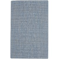 7 x 9 Large Flat Weave Cloud Blue Rug - Montauk ll