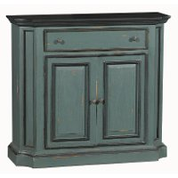 Dumere Blue Hand Painted Monarch Buffet Cabinet