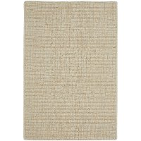 Flat Weave Cream 8 Foot Runner Rug - Montauk ll