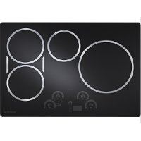 ZHU30RDJBB Monogram 30 Inch Induction Cooktop - Black