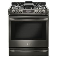 LSG4513BD LG Black Stainless Steel 30 Inch Slide-in Gas Range