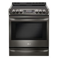 LSE4613BD LG Electric Range with ProBake Convection - 6.3 cu. ft. Black Stainless Steel