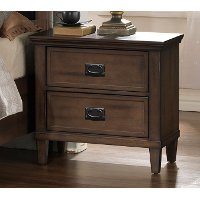 Brown Classic Nightstand - Park City