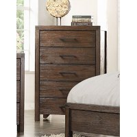 Rustic Contemporary Brown Chest of Drawers - Dillon