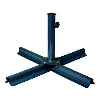 Gray/Black Patio Umbrella Stand