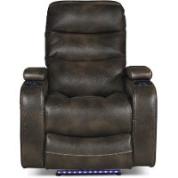 Coffee Brown Power Home Theater Recliner - Cinema