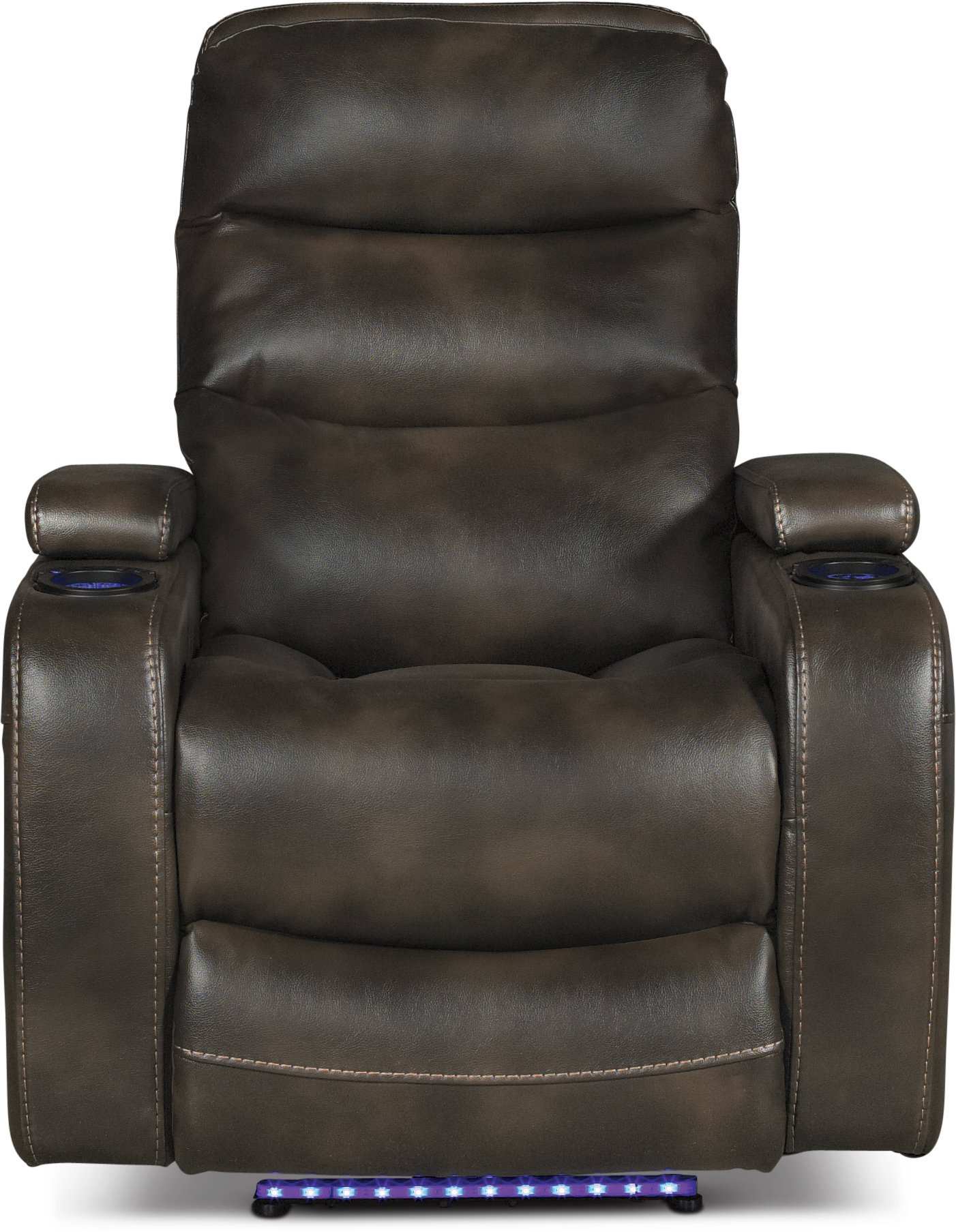 coffee brown 3 piece power home theater seating nicholas rc