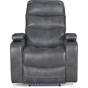 Slate Gray Power Home Theater Recliner