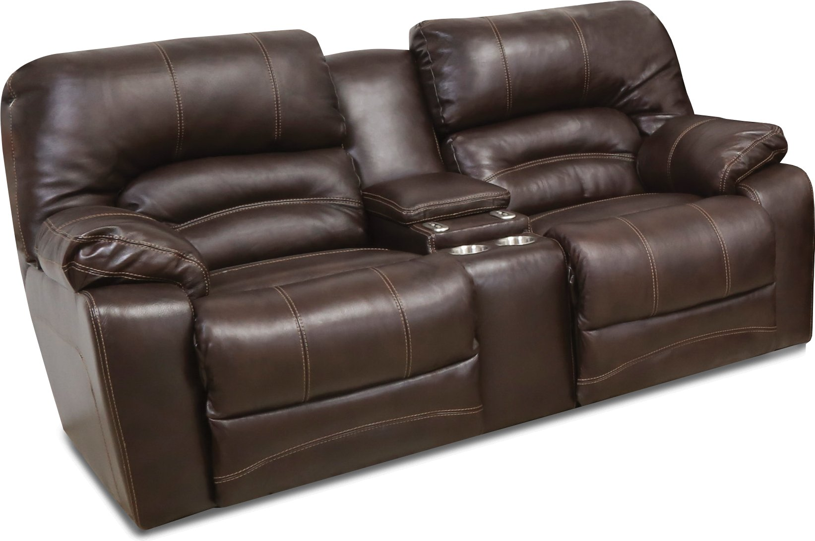 Chocolate brown leather power reclining sofa loveseat legacy rc willey furniture store Chocolate loveseat