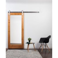 K2M13070CI6L0 Natural 3' x 7' Mirror Style Barn Door