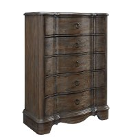 Traditional Dusty Brown Chest of Drawers - Parliament