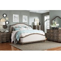 Havana Brown 6 Piece Queen Bedroom Set - Parliament