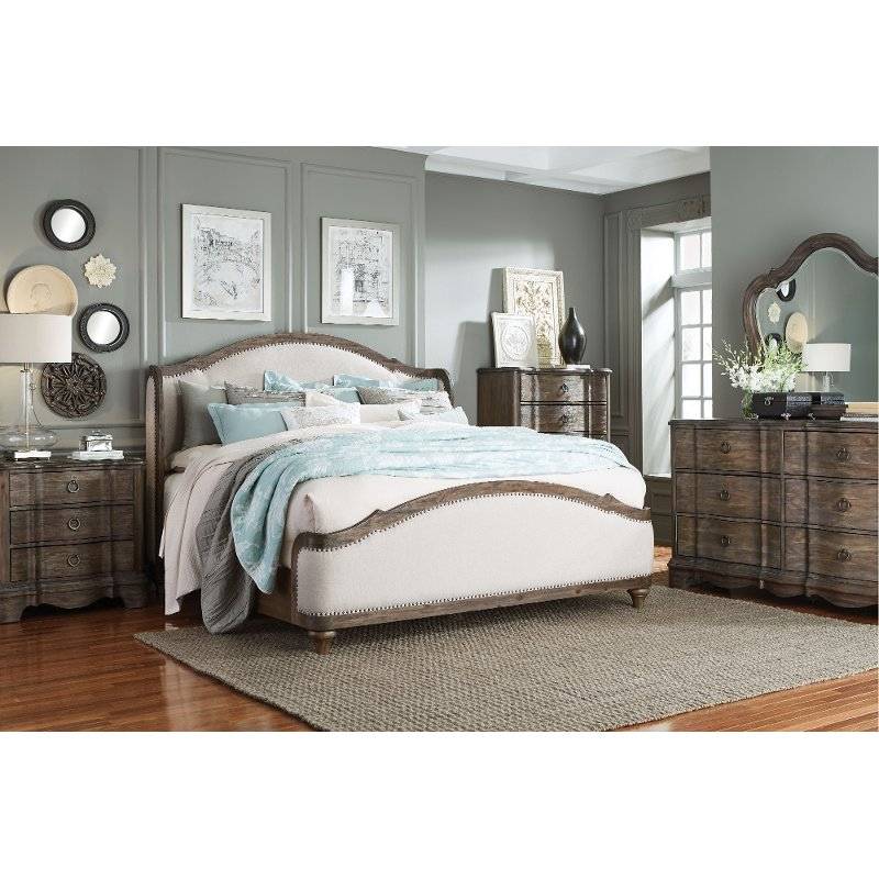 Havana Brown 6 Piece Queen Bedroom Set - Parliament | RC Willey ...