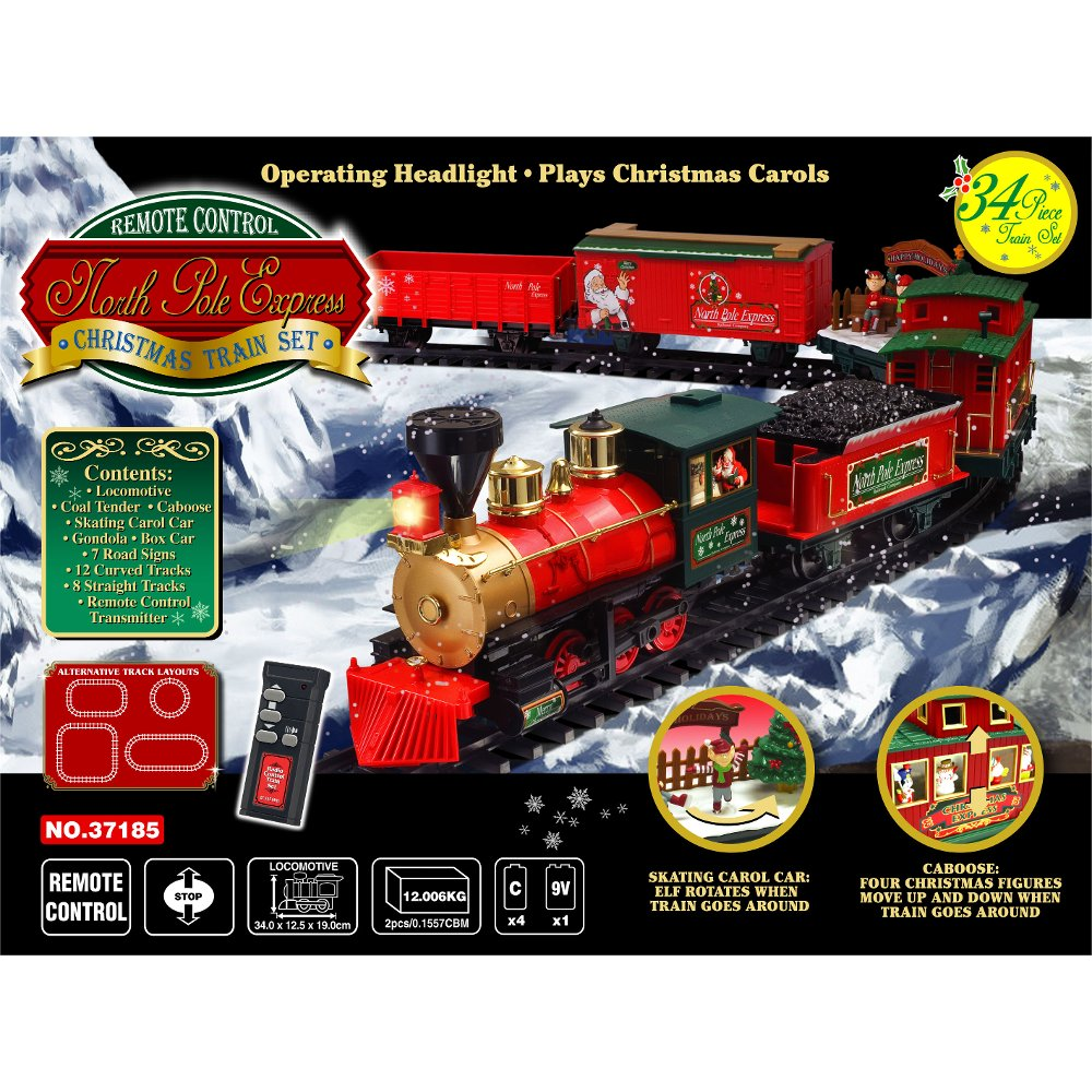 Wireless Christmas Train Set | RC Willey Furniture Store